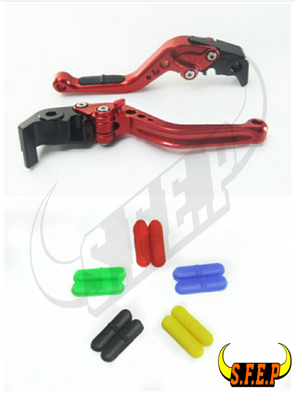 CNC Adjustable Motorcycle Brake and Clutch Levers with Anti-Slip For Ducati M900/M1000 2000-2005