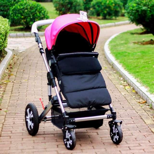 Nueva 5 Colores Universal Multifuncional Recién Nacido Bebé Carro Cochecito Saco de dormir Caliente Sobre Manta de Cama Caliente!