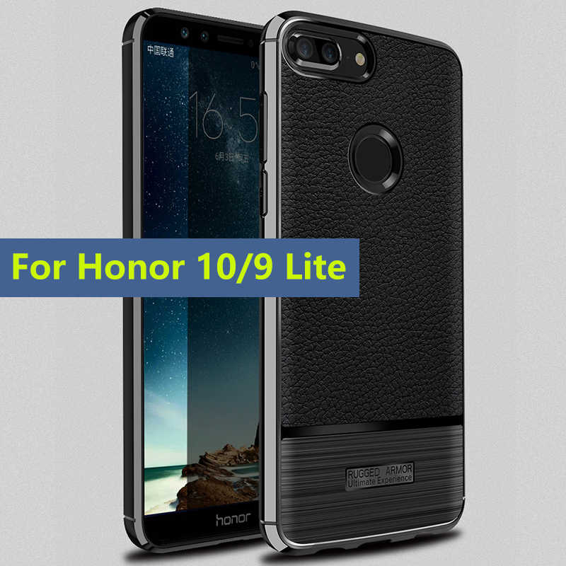 Phone Case Shockproof Silicon Bumper Cover On For Huawei Honor 9 Lite 10 9lite Honor9lite Honor10  3/4 32/64 GB Protective Light