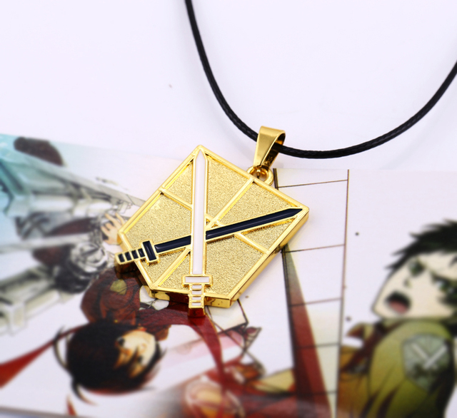Attack on Titan Training Corps Logo Alloy Necklace&Pendant