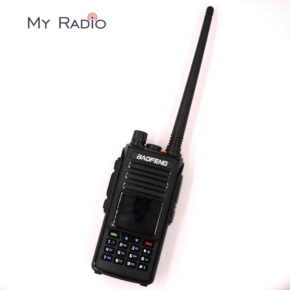 Baofeng DMR DM-1702 (GPS) Digital Walkie Talkie VHF UHF Dual Band 136-174 & 400-470MHz Dual Time Slot Tier 1&2 Two Way RadioBaofeng DMR DM-1702 (GPS) Digital Walkie Talkie VHF UHF Dual Band 136-174 & 400-470MHz Dual Time Slot Tier 1&2 Two Way Radio
