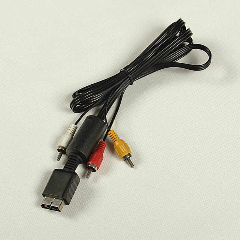 Hdtv DVD 1.8 メートル米国 5FT 1080 1080P HDMI オス 3 RCA ビデオオーディオ AV ケーブルコード PS1 PS2 プレイステーション AV ビデオケーブル