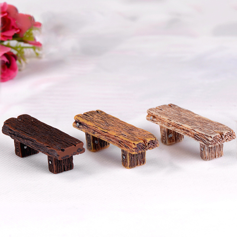Miniature Dollhouse FAIRY GARDEN Accessories~ Wood Tool Carrier Unfinished NEW