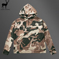 Aelfric Eden Men Camouflage Kanye West Sweatshirts Orignal Design Fashion Pullover Hrajuku Men Army Green Cotton Hoodies