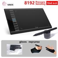 UGEE M708 10x6 inch Digital Tablet 8192 pressure sensitivity Creative Tablet Signature drawing design writing painting designer