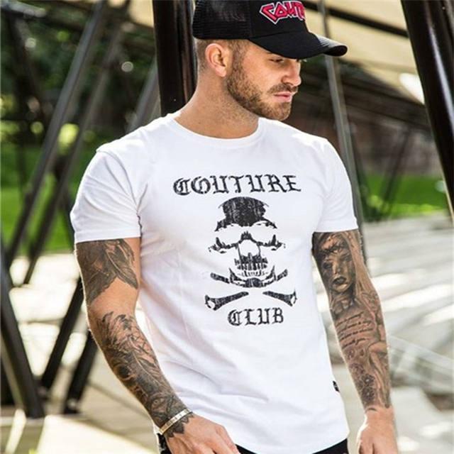 CAUTURE SKULL CLUB T-SHIRT (4 VARIAN)