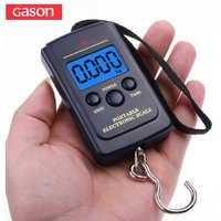 GASON Digitale Portatile Dei Bagagli Bilancia Electronic Travel Mini Appeso Strumenti di Misura Gram Bilancia di Precisione Pocket LCD 40KG