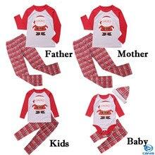 Christmas Family Matching Santa Claus Pajamas