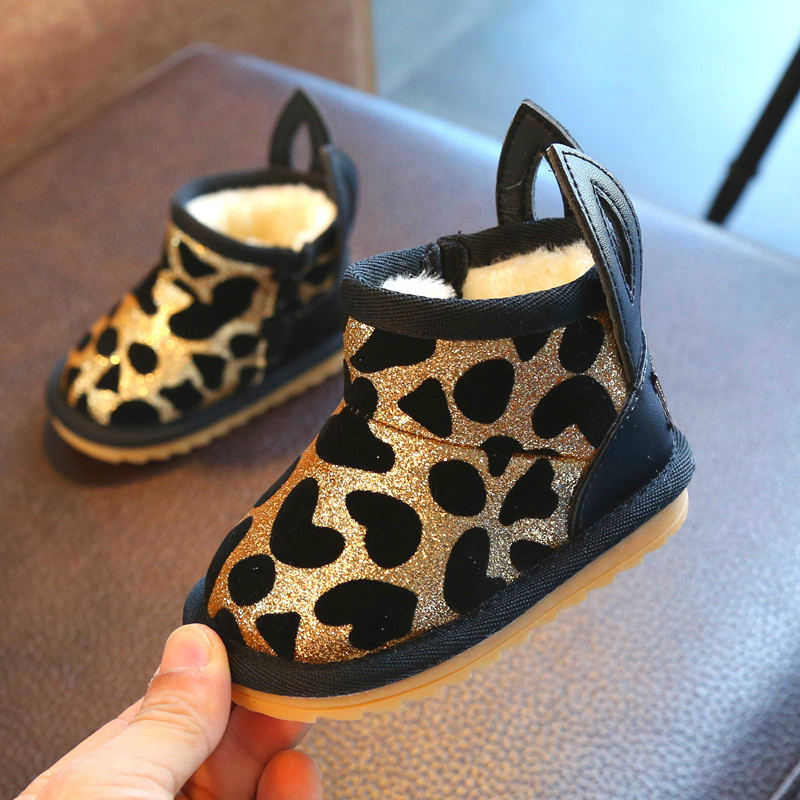 Baby Snow Boots Baby Boots Fashion Warm Winter Snow Boots Non-slip Toddler Shoes for Babies кошелек small beach