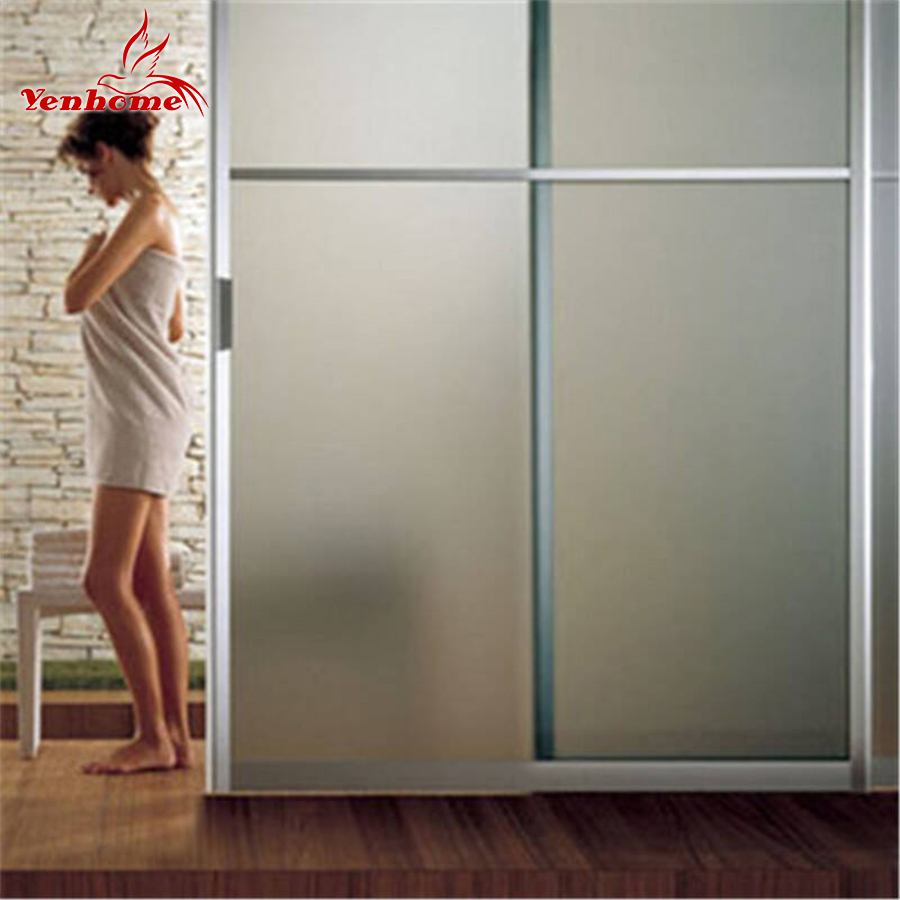 40CM*3M Static Cling Decorative Film Frosted Glass Sliding Door Bathroom  Window Glass Stickers Translucent Opaque Window Films In Decorative Films  From Home ...