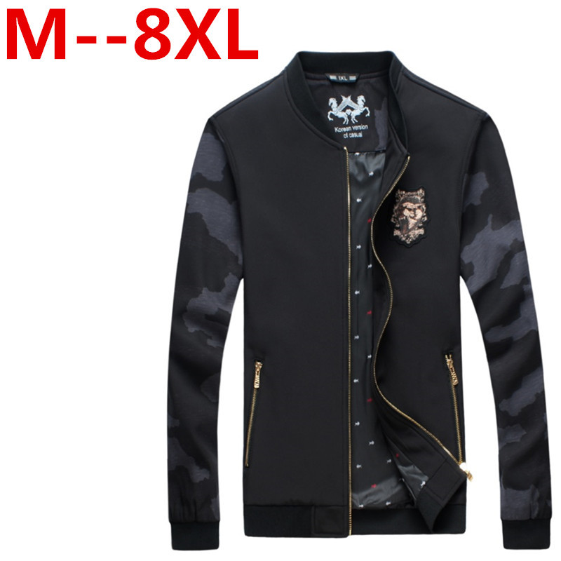 Leather Baseball Jacket Men Promotion-Shop for Promotional Leather ...
