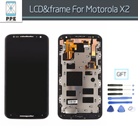 AAA Quality Lcd Screen For Motorola Moto X2 XT1092 XT1095 XT1097 Lcd Frame With Touch Display