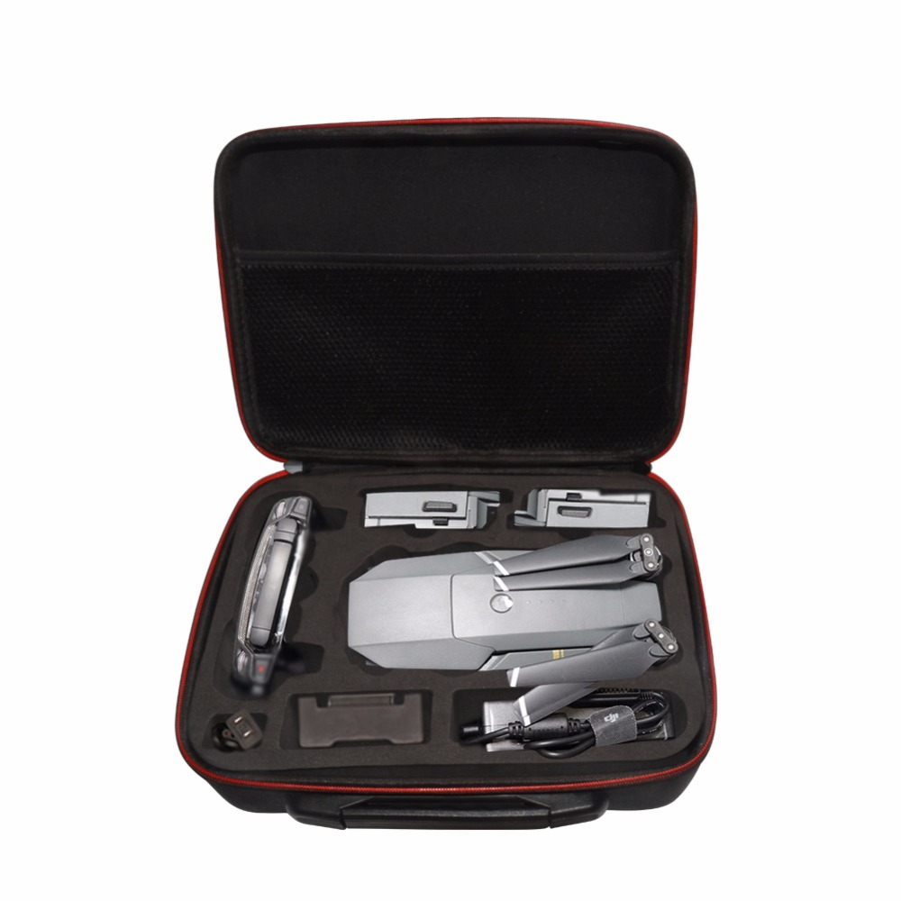 Prix pour DJI Mavic Pro Batterie télécommande accessoires Portable Sac De Rangement Sac À Main Épaule Unique paquet Pour RC Quadcopter