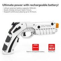 Magic 3D AR Game Gun Phone Bluetooth 4 4 Shooting Game Gun AR Game Gun Plastic