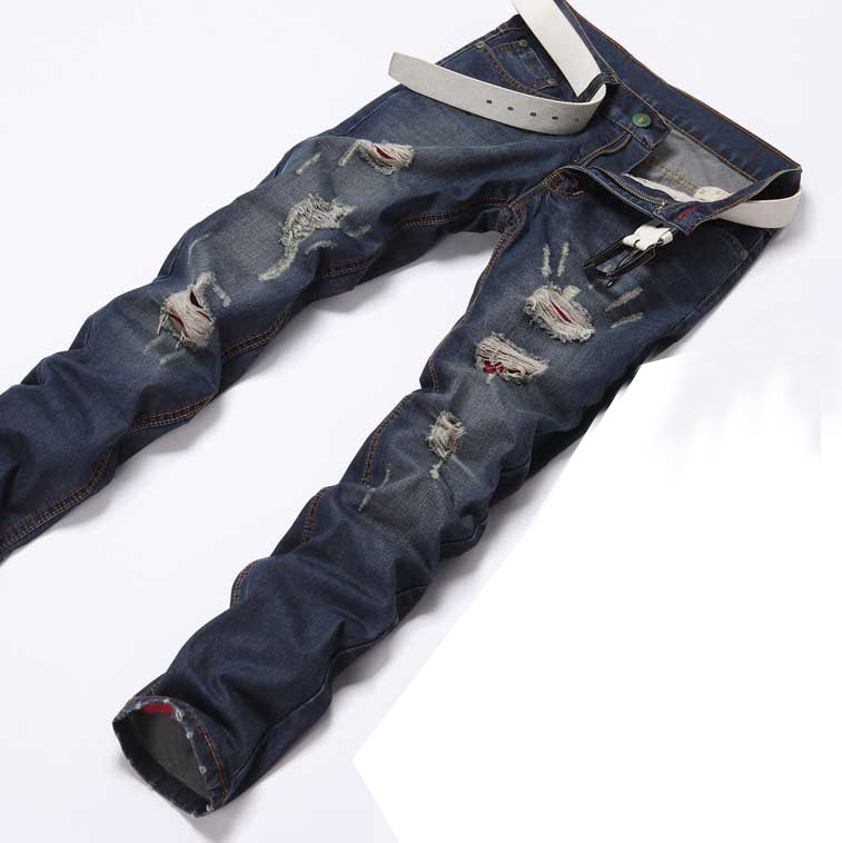 2014 Hole Jeans Men Ripped Jeans Men Fashion Designer Dsq Brand Men Jeans Denim Pants Trousers Hot Selling Jeans Maternity Trousers Blackjean Dye Aliexpress