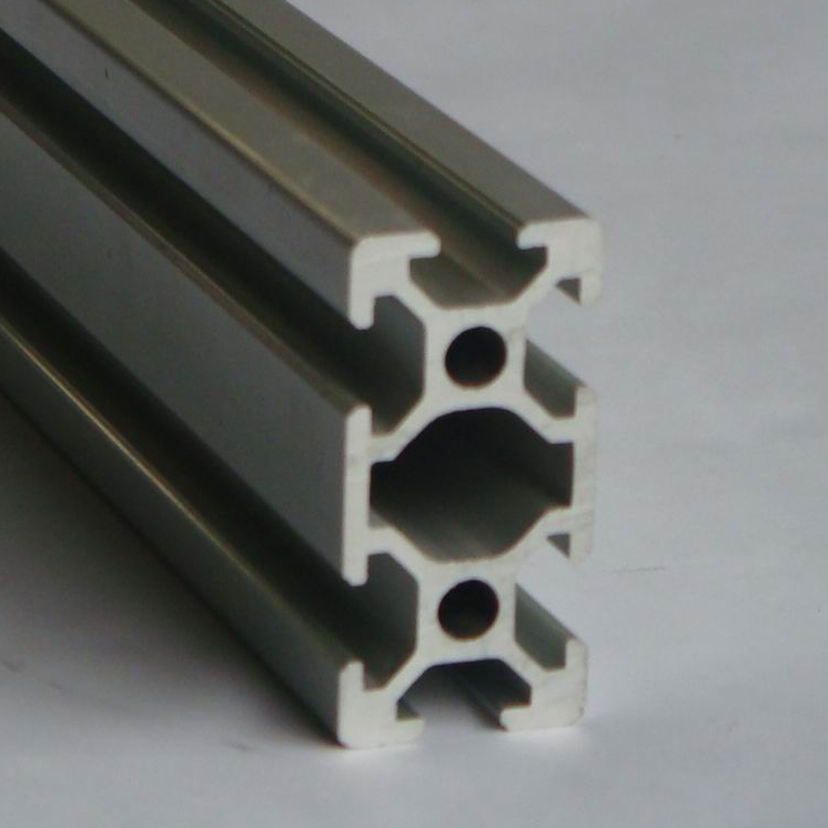 Arbitrary Cutting 100cm 2080 T slot silver colour extrusion aluminum profile in Bolts from Home Improvement