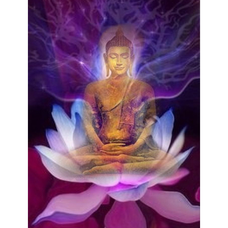 Full 5D Diy Daimond Painting Lotus Buddha 3D Diamond Painting Round Rhinestones Diamant Painting Embroidery Religious IconFull 5D Diy Daimond Painting Lotus Buddha 3D Diamond Painting Round Rhinestones Diamant Painting Embroidery Religious Icon