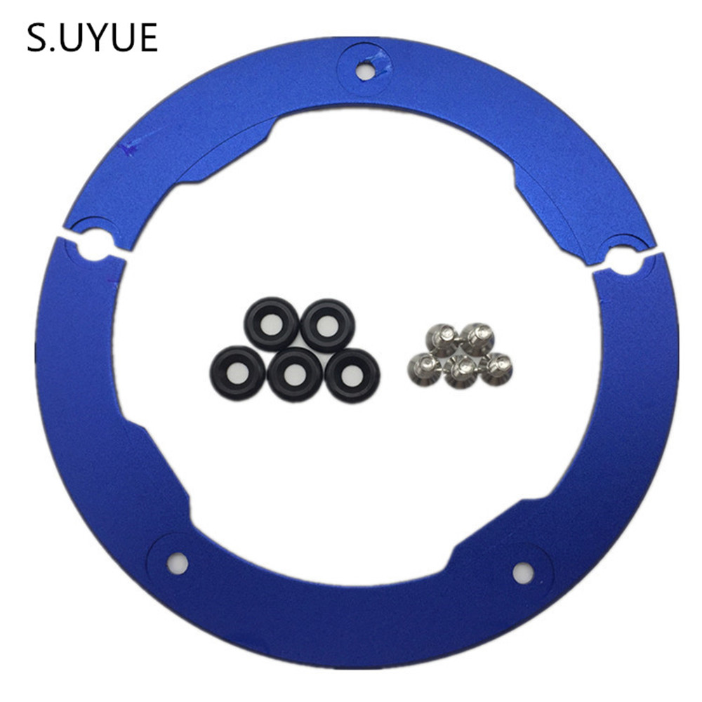 S.UYUE For Yamaha tmax 530 T MAX 530 TMAX530 T-MAX 530 Motorcycle Accessories Transmission Belt Pulley Cover 2012 2015 motorcycle accessories new parts transmission belt pulley protective cover blue for yamaha t max 530 tmax530 t max530 2012 2015