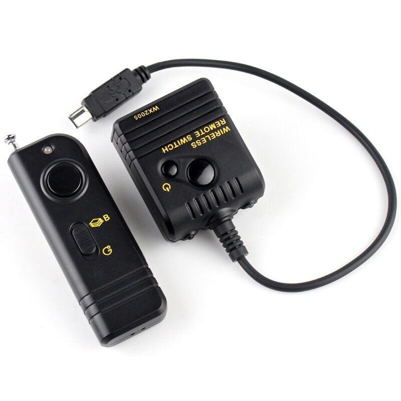 Pro 100M Wireless Remote Control for Canon EOS Rebel 450D 400D 350D 300D 550D 600D 60D XSi XTi XT T2i 1000D 1100D As RS-60E3