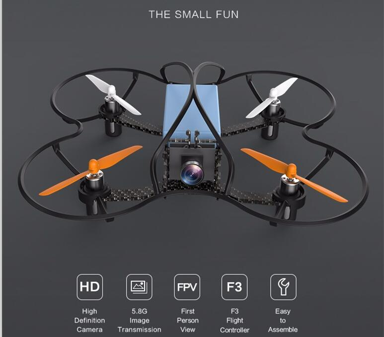 Hot sell New player Mini Racing RC Drone S5-110 2.4G 6CH 200M 5.8G wirless image module RC Quadcopter with 600 TVL HD Camera