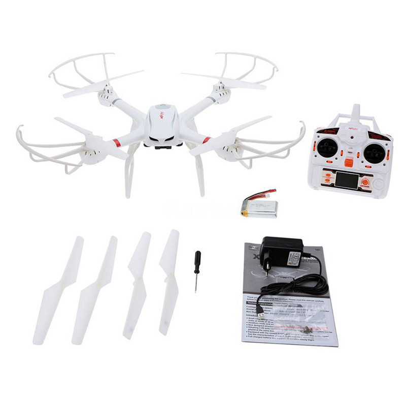 JJRC MJX X101 6-Axis Headless 3D Roll One Key Return Quadcopter Helicopter 2.4G Transmitter FPV Mini Drone Spare Propellers with more battery original jjrc h12c drone 6 axis 4ch headless mode one key return rc quadcopter with 5mp camera in stock