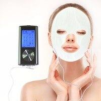 Elektrische Spierstimulator Full Body Relax Digitale Tientallen Therapie Massager Machine 8 Modi Met Geleidende Fical Masker Voor Schoonheid