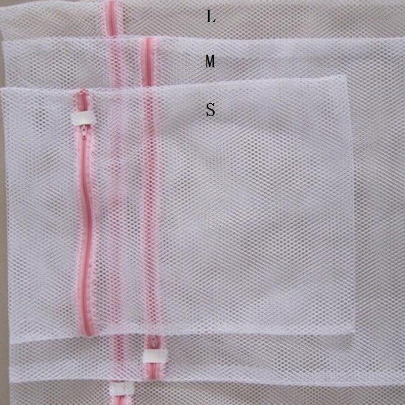 2 Chiếc Dây Kéo Lưới Giặt Quần Áo Giặt Túi Có Thể Gấp Lại Được Làm Dày Tinh Tế Đồ Lót Máy Giặt Bảo Vệ Quần Áo Lưới 8CX691 title=