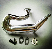 exhaust pipe/tuned pipe for 1/5 HPI KM ROVAN baja 5b 5t RC CAR PARTS ,free shipping