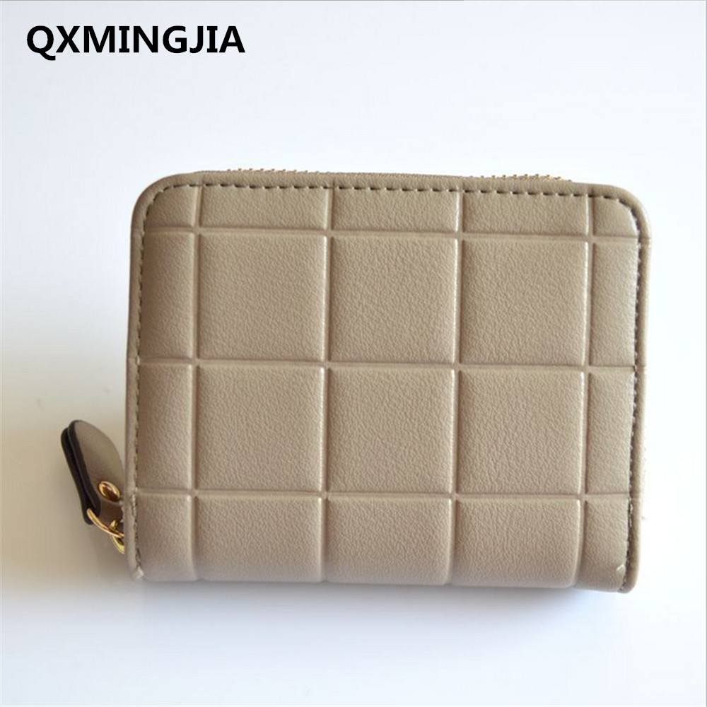 New Arrival Women Short Wallet Top quality Fashion PU Small Female Coin Purse Card Holder Hot sell zipper bag D2033-1 кольца