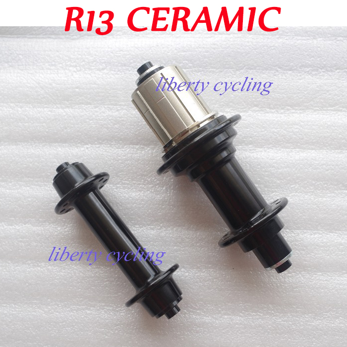 20/24 H 18/21 H Superlight Powerway R13 roulements en céramique J moyeux de vélo de route virage/crochet 20/24 18/21 trous de clé enjoliveur de vélo noir rouge