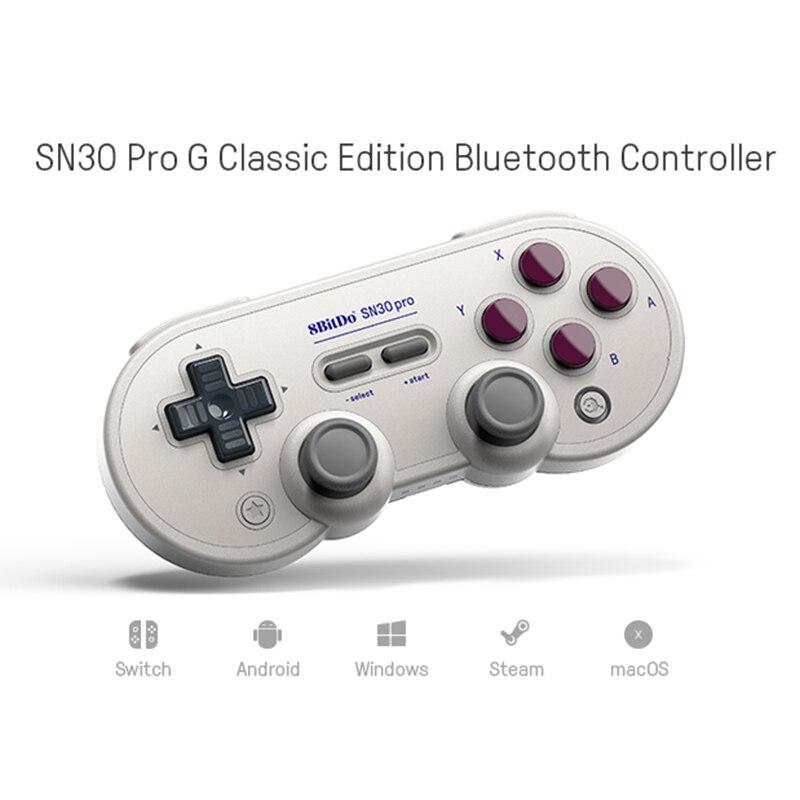 8bitdo SN30 ProG Contrôleur Sans Fil de Bluetooth Pour la Console De Commutateur Classique Manette Pour Interrupteur/Android/Windows