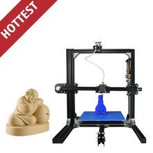 2017 Горячей Продажи OEM Имеющийся Профессиональный Производитель Нити Экструдер 3D Принтер Машина Металлический Каркас Prusa i3 ET_I3 DIY