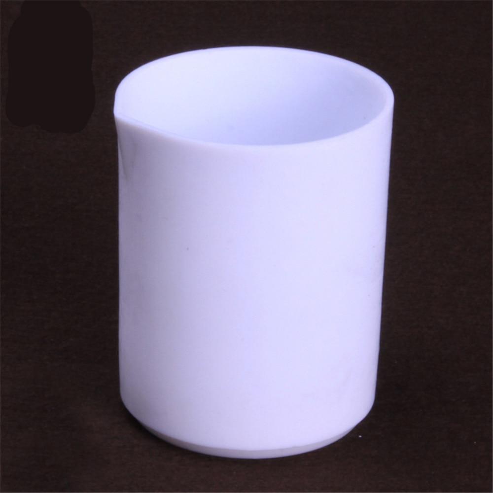 1000ml,Tetrafluoroethylene Teflon beaker,PTFE F4 beaker low form,Laboratory Supplies 200ml ptfe beaker teflon beaker no handle chemical labware