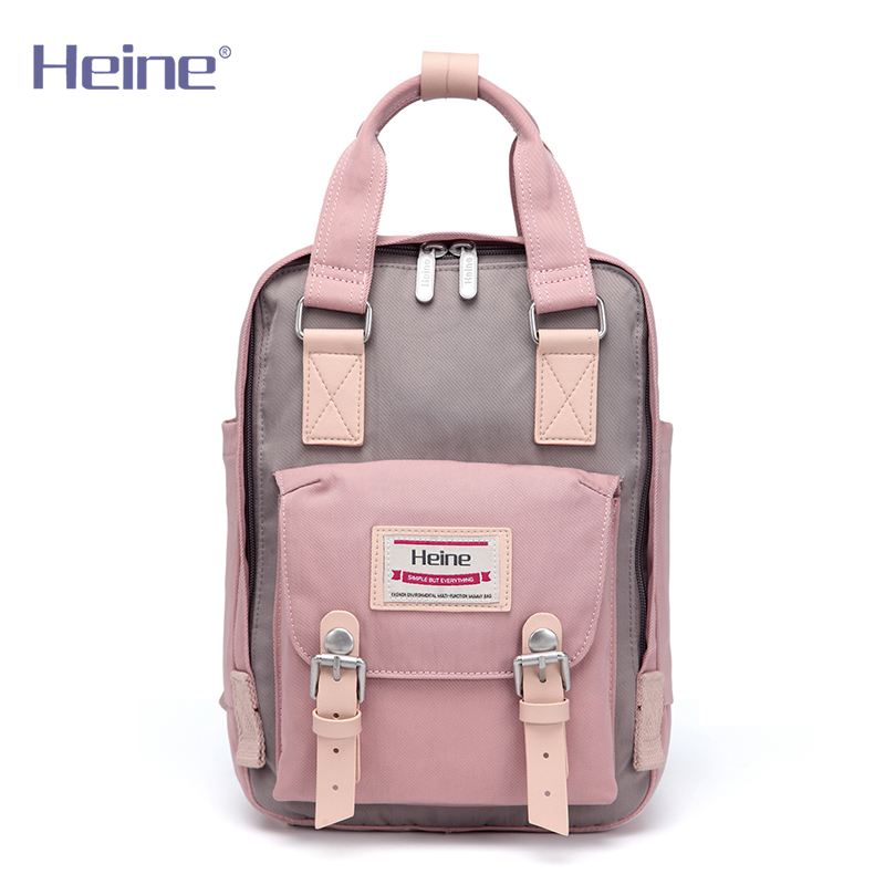 Heine Small Nylon Mummy Diaper Bag Backpack BabyCare Travel Nappy Changing Mom Maternity Nursing Organizer Stroller 21*9*29cm пуловер quelle rick cardona by heine 31107 page 9