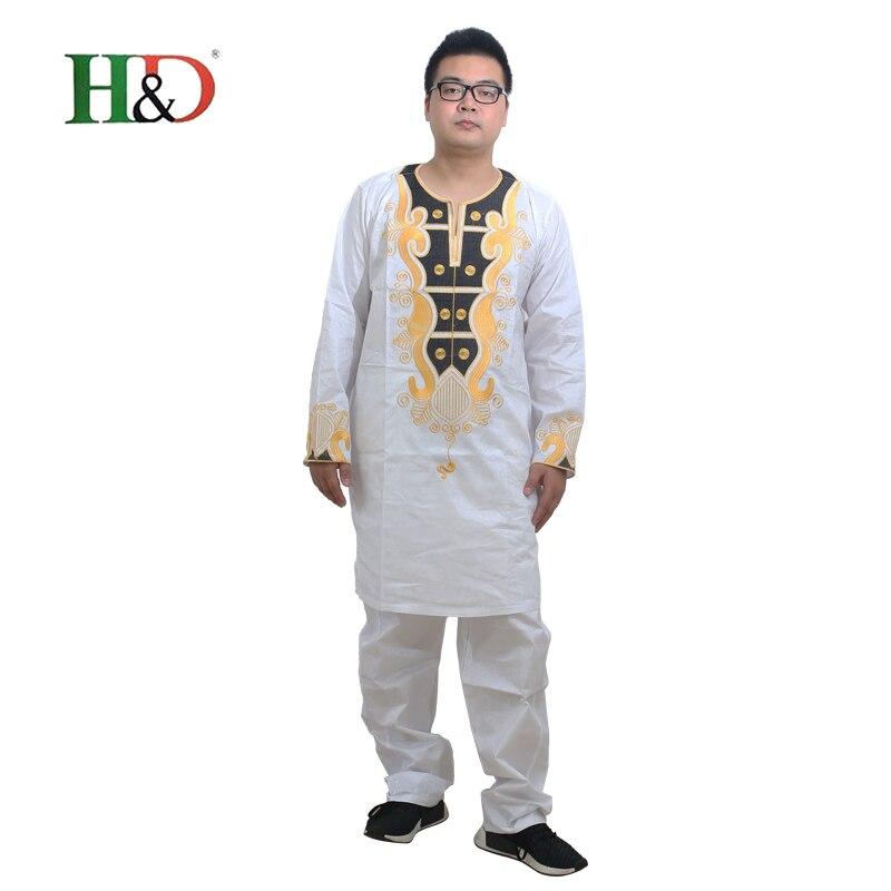 Pakaian Afrika untuk pakaian lelaki 2019 pakaian tradisional lelaki - Pakaian kebangsaan - Foto 6
