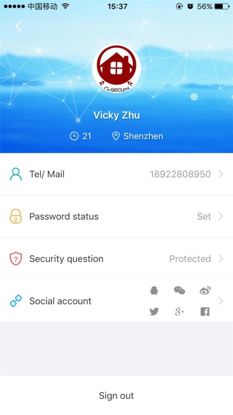 WIFI GSM Doorbell Alarm System  6