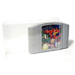 Image 2 - 20pcs Clear Transparent Cartridge Protector for Nintendo N64 Game Card Plastic PET Case Boxes