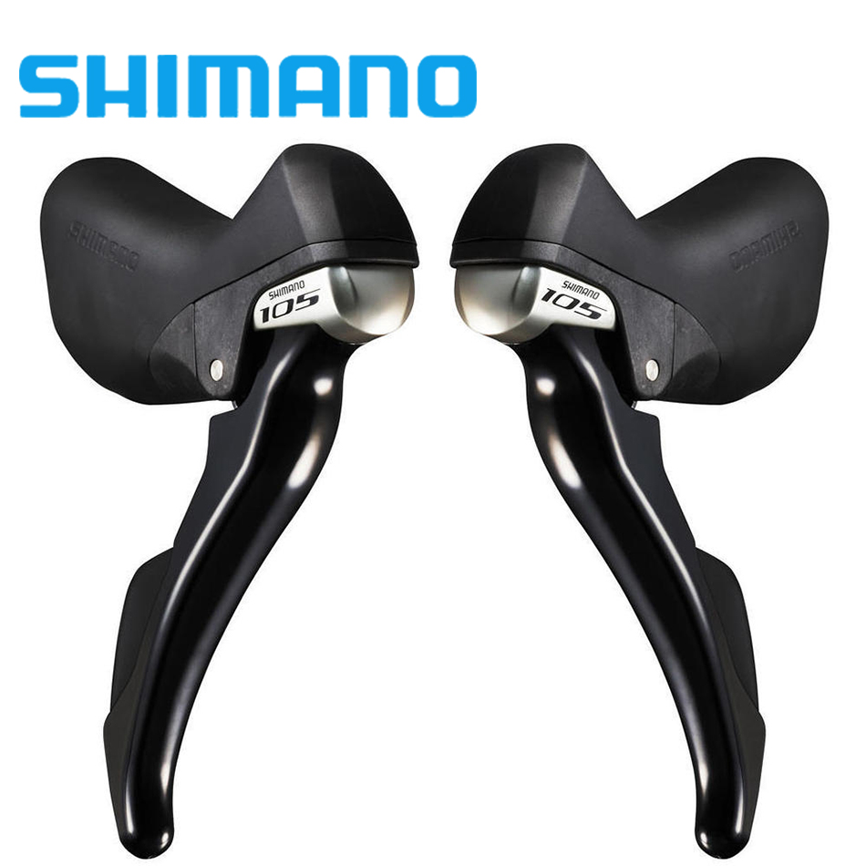 shimano 105 ST-5800 2 x 11 speed Brake / Shift Bike Dual-Control Lever - 1 Pair 105 st 5800 2 x 11 speed brake shift bike dual control lever 1 pair