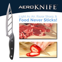 Micro Edge Blade Aero Knife Stainless Steel Sharpening Versatile Carve Fillet Slice Chop
