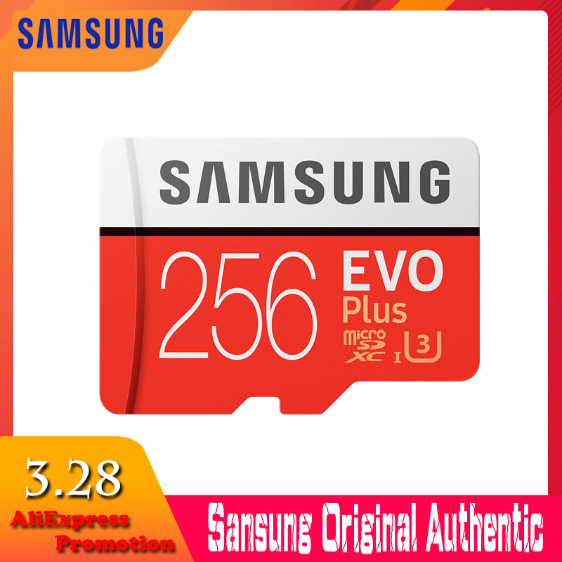 Neue produkt Original SAMSUNG EVO + Speicher Karten 64 GB EVO plus U3 128 GB 256 GB Class10 Micro SD karte 32 GB microSD UHS-I TF Karte