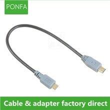 Micro USB 2.0 Mini linha de dados USB para o público de cópia linha OTG em contato com Conector do cabo de linha de carregamento Para O telefone Móvel 20 cm 1 M/3FT