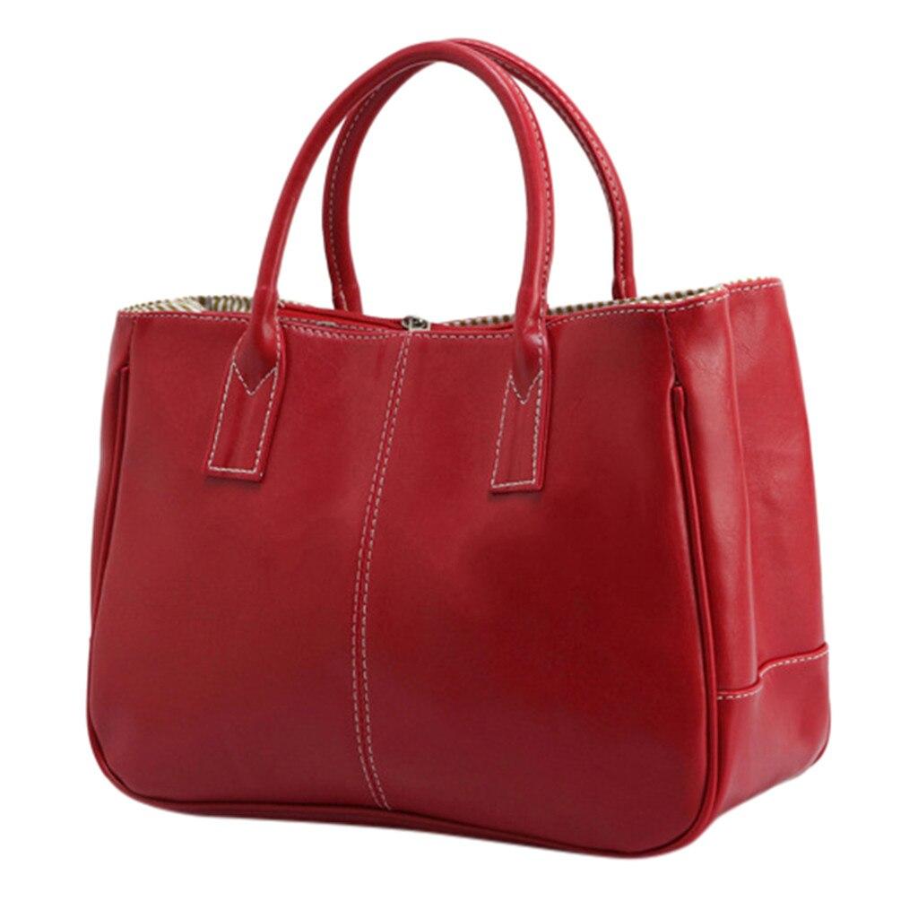 Handbag 2019  Women Large Capacity Simple All-purpose Fashion Soft Leather Shoulder Bag Totes