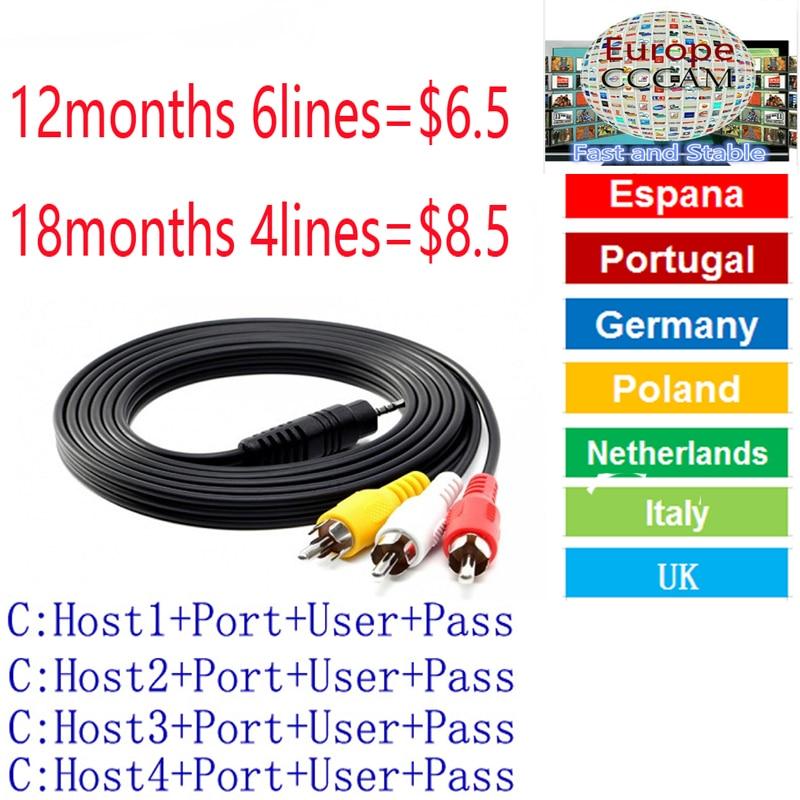 Fast and Stable CCcams Europe Cline Card Mgcam Oscam Cline for VU+ Samsat Starsat Satellite TV Receiver via usb wifi цена и фото