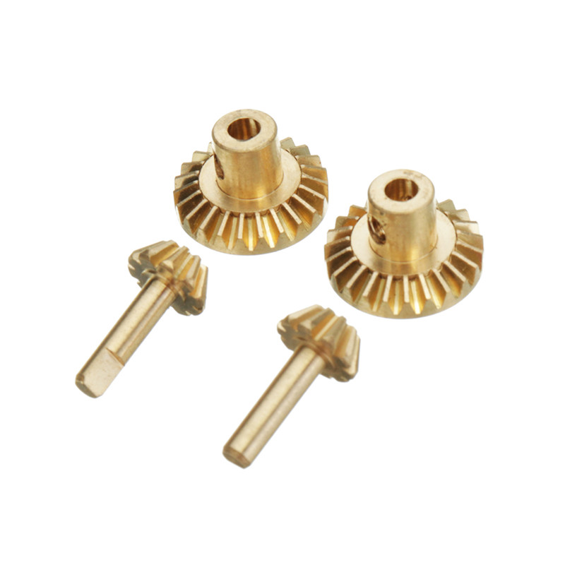 High Quality Copper Gear For WPL B1 B24 B16 C24 1/16 4WD 6WD RC Car Spare PartsHigh Quality Copper Gear For WPL B1 B24 B16 C24 1/16 4WD 6WD RC Car Spare Parts