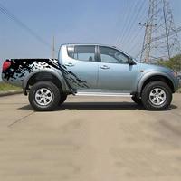 Наклейки для автомобиля mudslinger боковое тело задний хвост графический винил автомобильные аксессуары наклейки на заказ для MITSUBISHI L200 TRITON