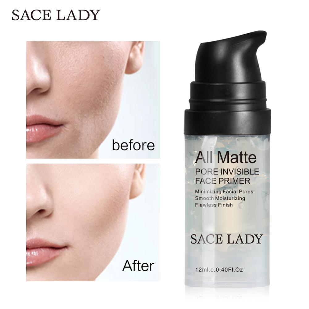 SACE LADY Face Primer Natural Matte Make Up Foundation Pores Invisible Prolong Makeup Base Facial Skin Oil-control Cosmetic 1