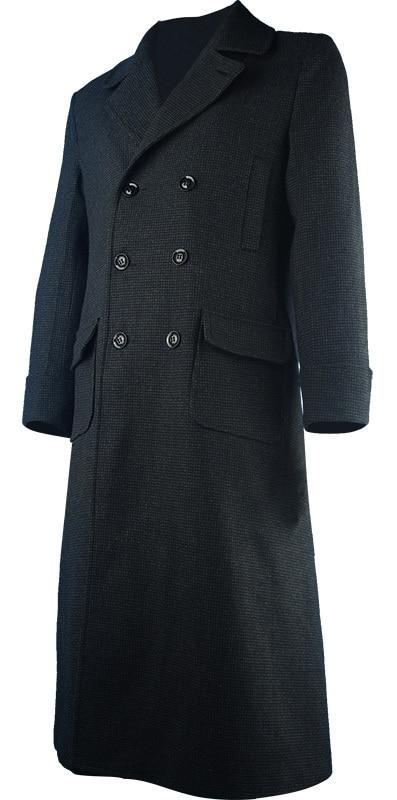 Sherlock Holmes széldzseki hosszú árok köpeny kabát tetőfedő - Jelmezek - Fénykép 2