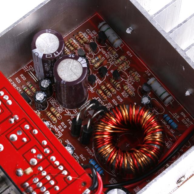 OOTDTY 120W 8-12″ Core Tube 12V Car Tritone /Pure Bass Amplifier Board New