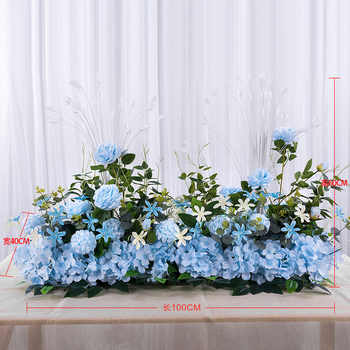 Angela flower Artificial & Dried Flowers Blue B