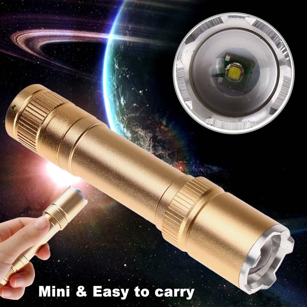 Image result for mini zoom rechargeable torch golden